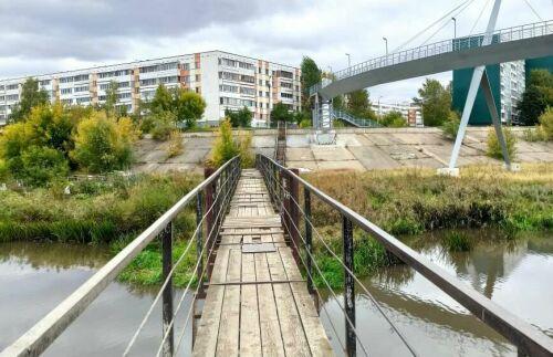 В Челнах закроют новый мост на Элеваторной горе, жителей просят пользоваться старым